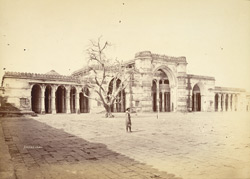 General view of the façade of the Jami Masjid, Ahmadabad 10031688